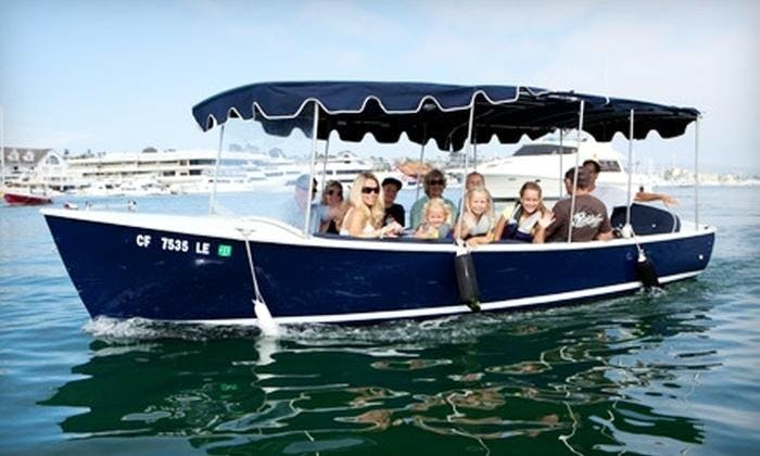 Electric Boat Rental | Captained Boat Tour in Newport Beach