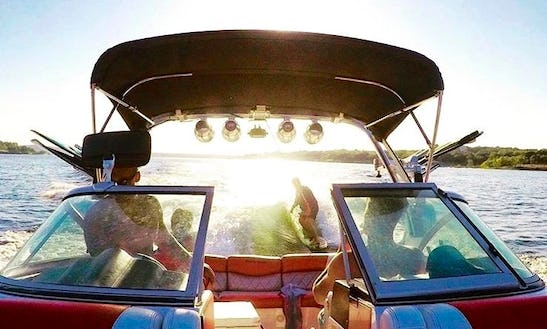 Enjoy Lake Travis In Austin The Local Way!  Come Wake Surf, Relax, And Party On Our 2013 23.5' Mastercraft X-35 Surf Boat!