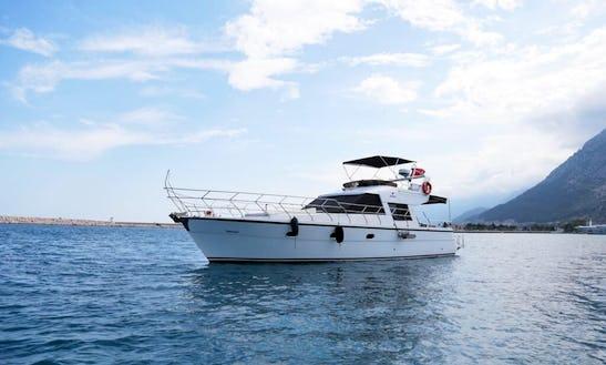 Motor Yacht Rental In Antalya