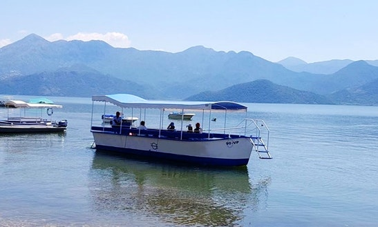 Charter A 25 Seater Passenger Boat In Vranjina, Bar Montenegro