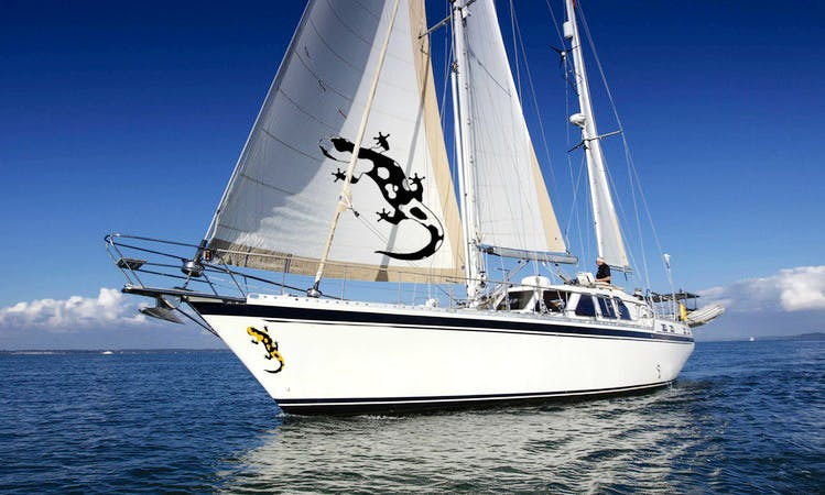 Crewed Charter in the Caribbean - The best of traditional teak-lined Sparkman & Stephens and Nauticat comfort