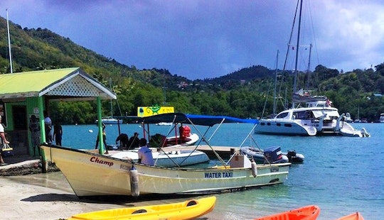 Charter A Dinghy In Castries, Saint Lucia