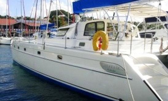 Charter 42' Serendipity Cruising Catamaran In Soufriere, Saint Lucia