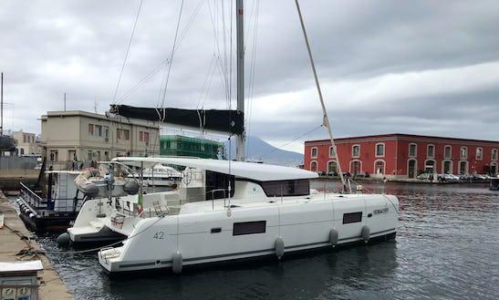 Charter 42' Lagoon Cruising Catamaran In Somma Vesuviana, Italy