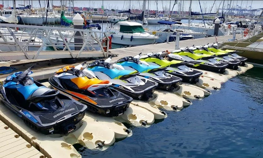 Jet Ski Rental in Port Saplaya, Valencia