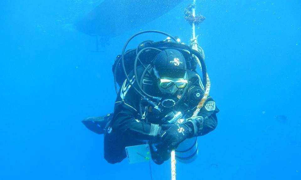 Enjoy Diving in Vico Equense, Italy
