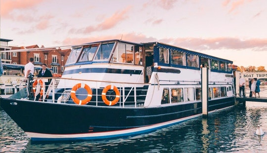 Explore Reading, England On Passenger Boat For 140 Pax