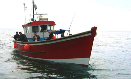 Fishing Charter On The Royal Charlotte From Dover