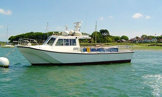 34' Fishing Trips Charter In Itchenor
