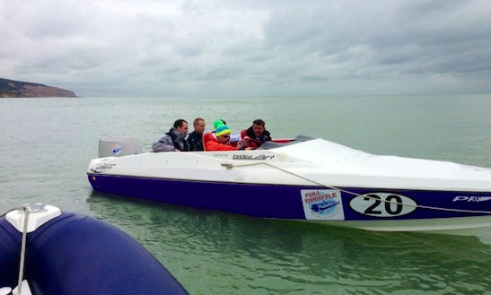 Powerboat Experience In Eastbourne, England