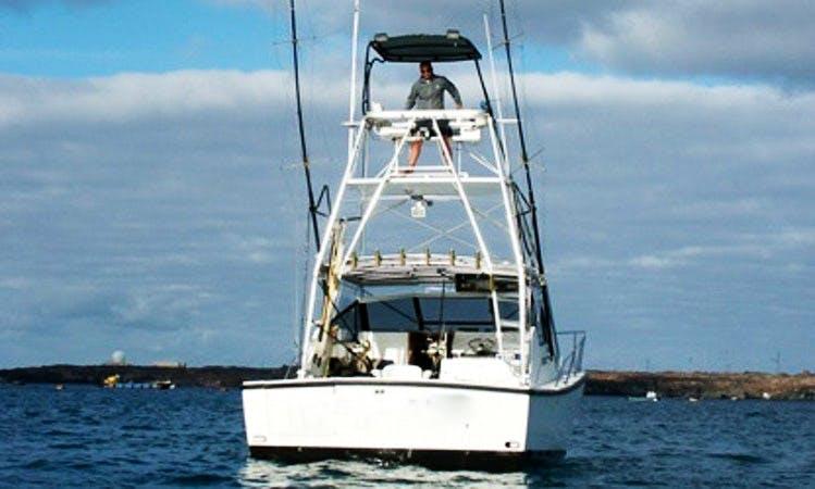 36' Sport Fisherman Boat For Fishing Trips in Mogan, Spain