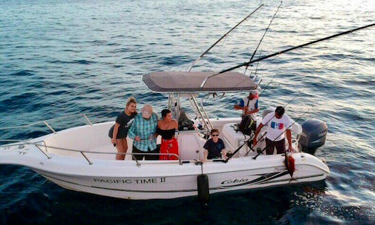 Go Fishing On This 6 Persons Pacific Time Ii Center Console In Cabo San Lucas, Mexico