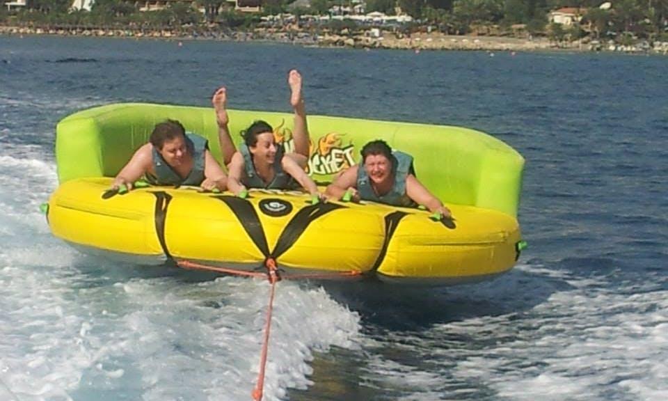 Tubing Fun in Limassol, Cyprus