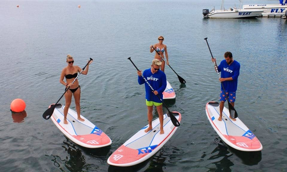 Stand Up Paddleboarding in Limassol, Cyprus