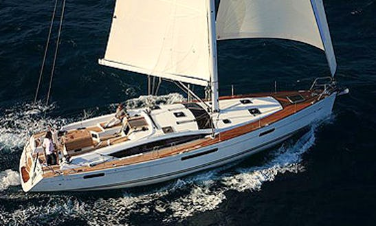 Charter This 12 People 53' Jeanneau Cruising Monohull In Il-gżira, Malta