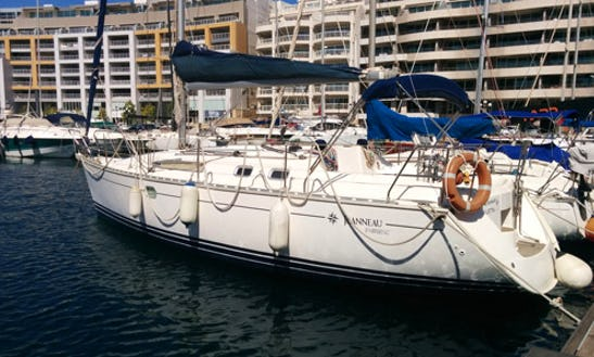Charter This 6 People 34' Jeanneau Cruising Monohull In Il-gżira, Malta