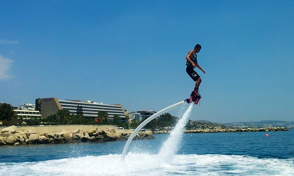 The Newest Watersport Around - Flyboarding!