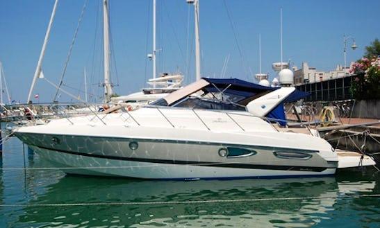 Charter 10 People Cranchi Zaffiro Motor Yacht In Il-gżira, Malta