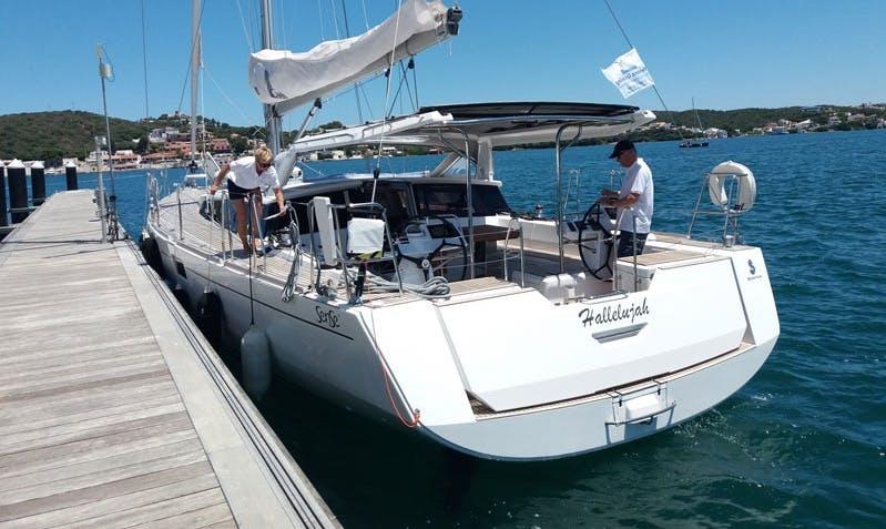 57' Beneteau Sense - Hallelujah Cruising Monohull in Maó, Spain