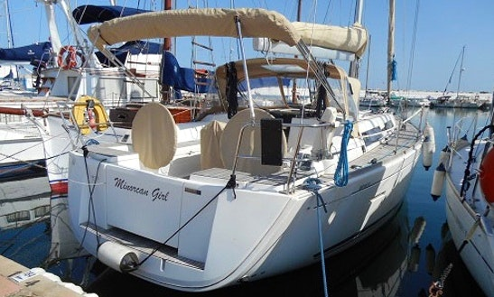 Charter This 8 People Beautiful Dufour 405 Grand Large - Minorcan Girl Cruising Monohull In Maó, Spain