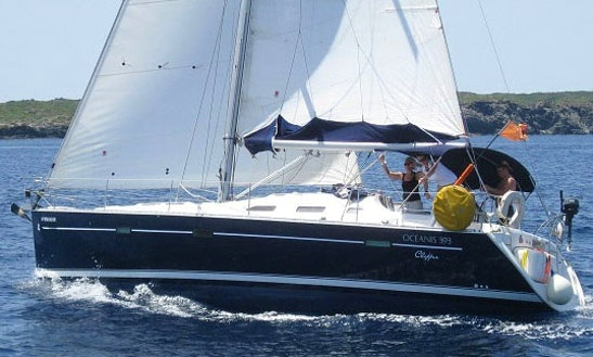Experience The Waters Of  Maó, Spain On This Luxury Sailboat Beneteau Oceanis 393 - Papaya