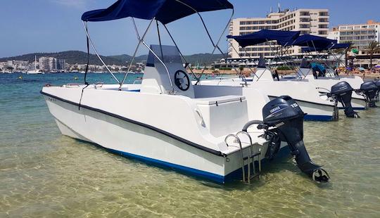 16' Power Catamaran Rental In Illes Balears, Spain