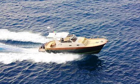 Charter 12 People Sparviero 820 Motor Yacht in Sorrento, Campania