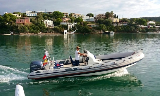 21' Ribeye - Smarty Pants Inflatable Boat Charter In Maó, Spain