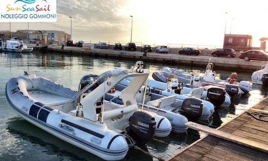 Sun Sea Sail Agrigento-noleggio Gommoni