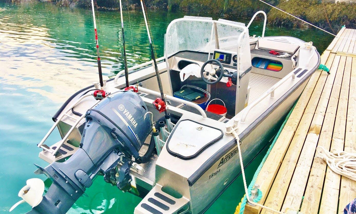 Cape Marina boat rental @NorthCape