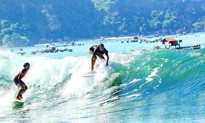 Surf Lessons in Gerupuk, South Lombok Indonesia