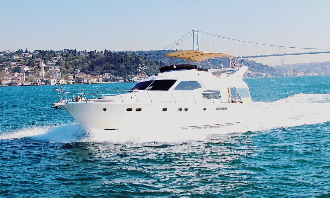 Charter The 70 feet Power Mega Yacht in İstanbul, Turkey