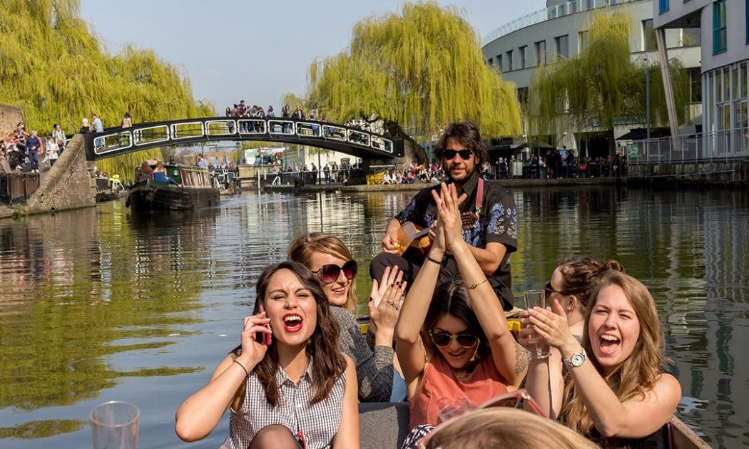 Hire The Music Boat and Experience the most beautiful part Regents Canal in style!