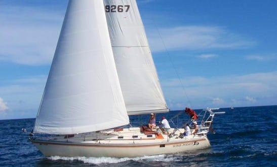 Jeanneau Sloop Charter In Fort Lauderdale With Captain Dan