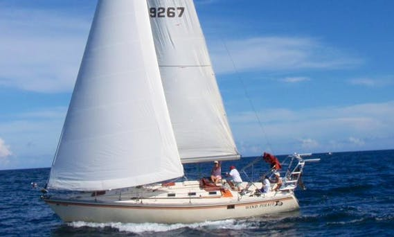 Jeanneau Sloop Charter in Fort Lauderdale With Captain Dan