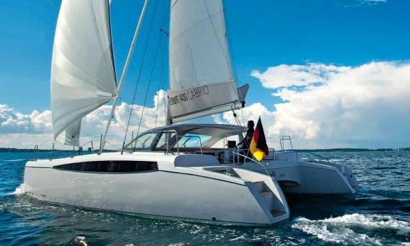 Day Charter sail on a catamaran in Marseille - France