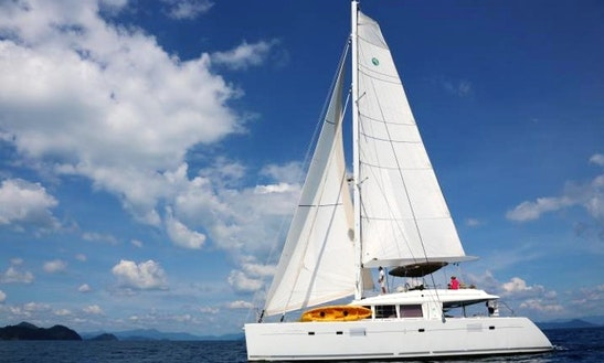 Explore The Tambon Pa Klok, Thailand - Charter A 56' Lagoon Sailing Catamaran!