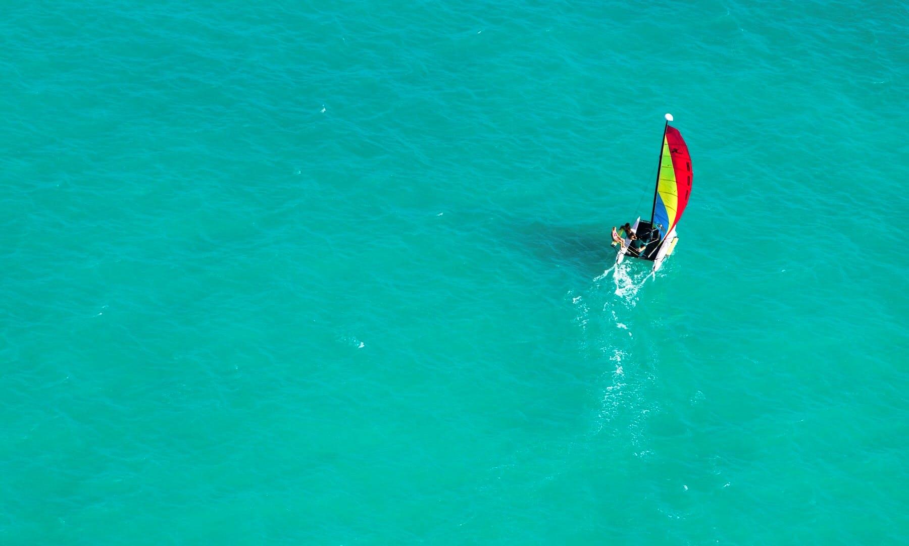 Beach Catamaran in Kailua