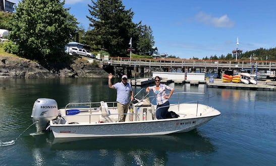 Rent A 17' Boston Whaler Montauk In Friday Harbor, Washington