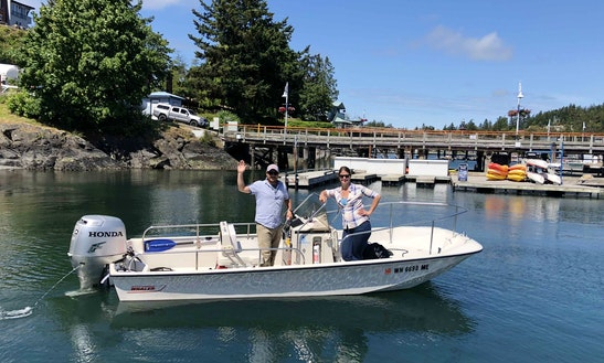 Rent A 17' Boston Whaler Montauk In Friday Harbor, Washington