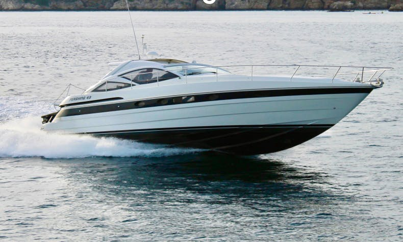 43' Pershing Motor Yacht Charter in Olbia, Italy