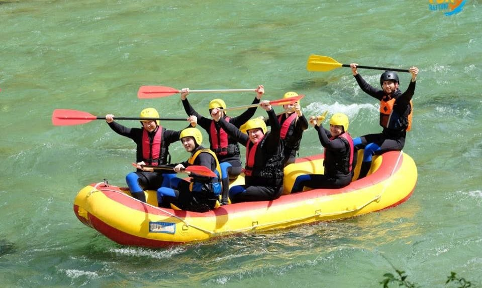 Hit the Salza River on a Raft to see Austria like never before