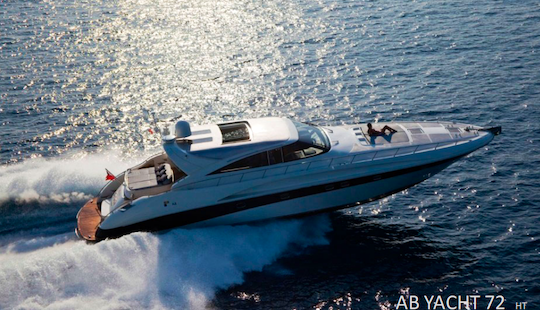 Experience The Luxury 72' Ab Ht Power Mega Yacht In Olbia, Italy