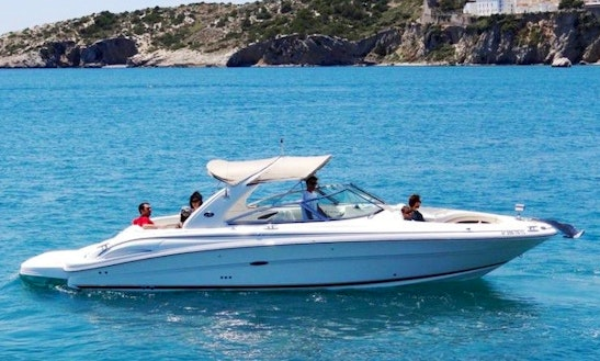 Enjoy On This Beautiful N1 Sea Ray 290 Bowrider Charter In Eivissa, Spain