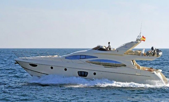 Charter This 12 Person 68' Azimut Evolution Power Mega Yacht In Eivissa, Spain