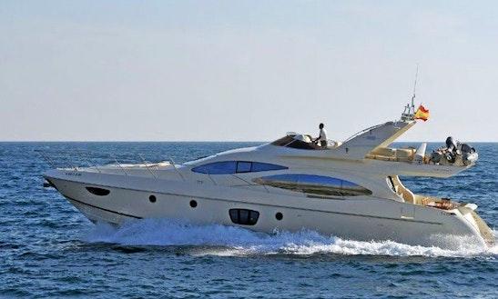 Charter This 12 Person 68' Azimut Evolution Power Mega Yacht In Eivissa, Spain