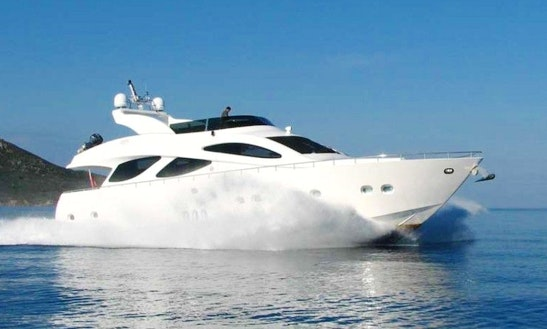 Spectacular 78' Sea Wide Power Mega Yacht With All The Luxury In Eivissa, Spain