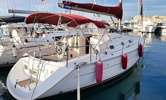 Discover Barcelona, Catalunya On 32' Beneteau Oceanis 311 Clipper For 8 Person