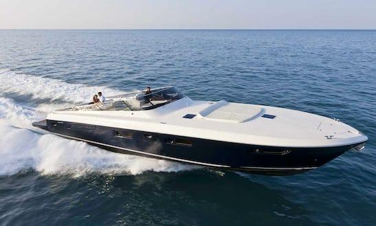 Itama 55' Motor Yacht Rental In Portofino