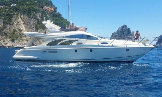 Azimut 50 Power Mega Yacht In Sorrento, Campania For Charter